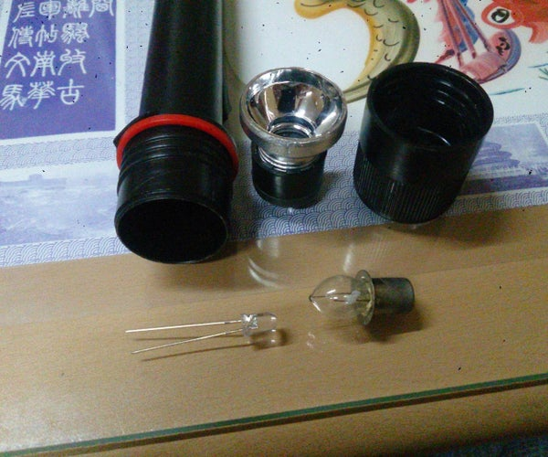Replacing Old Flashlight Bulb With LED
