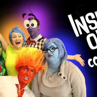Inside Out Sadness Makeup and Costume!