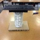 Wireless Elevated Keyboard Holder 1 (WEKH) Made at Chandler TechShop