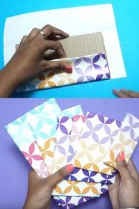 Let's Warp Cardboard Pieces!