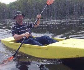 Seafoam Kayak, the Unsinkable Foam Kayak Anyone Can Build, 16 Pounds and Eight Feet of Fun