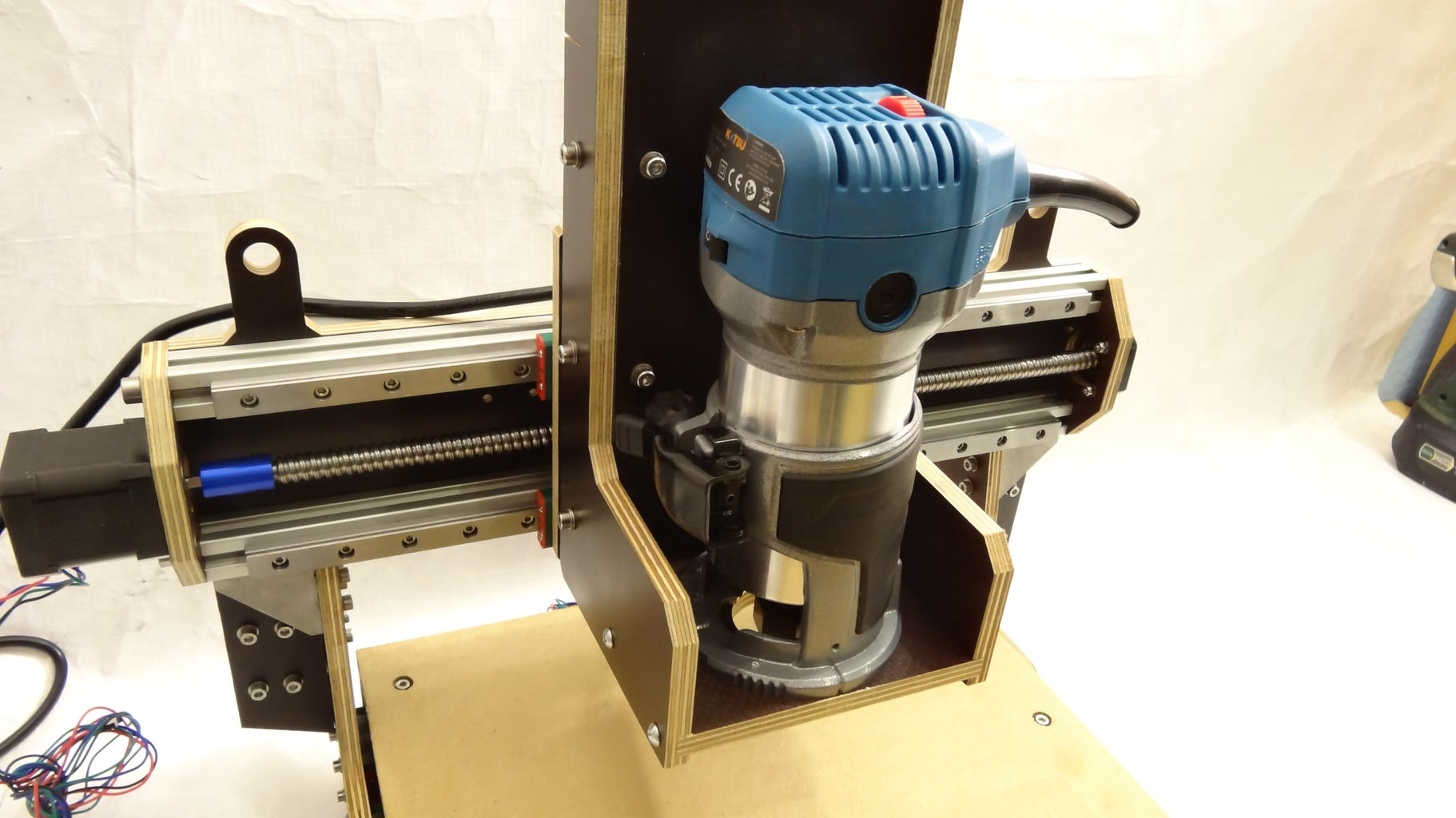 Attach the Spindle Mount to the Machine