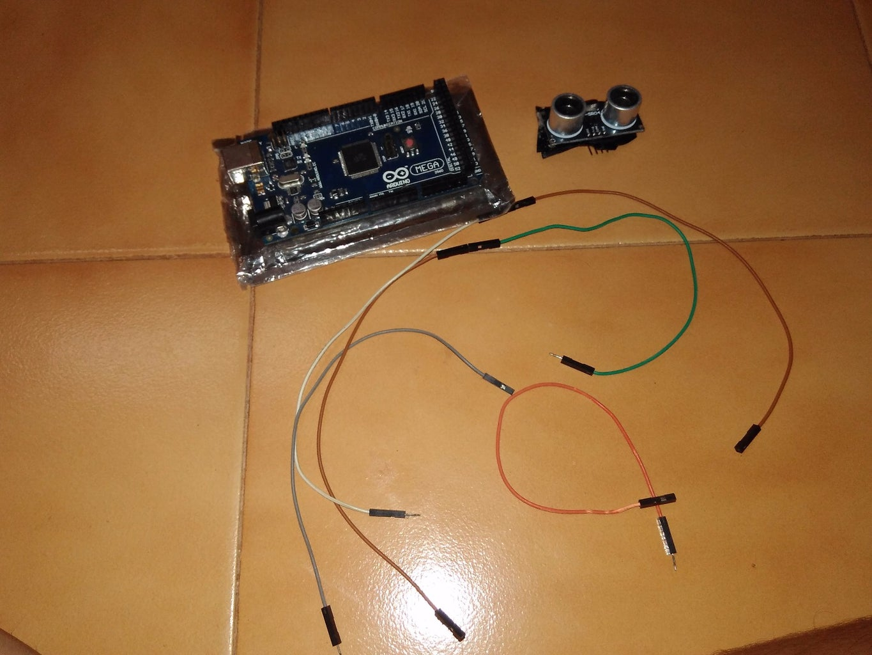 Connect the HC-SR-04