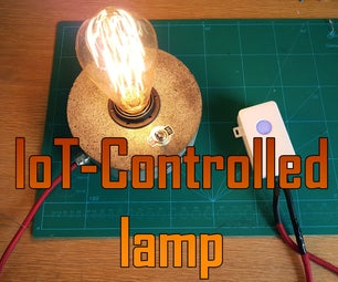 IoT Controlled Lamp
