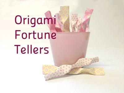 Origami Fortune Teller Favors