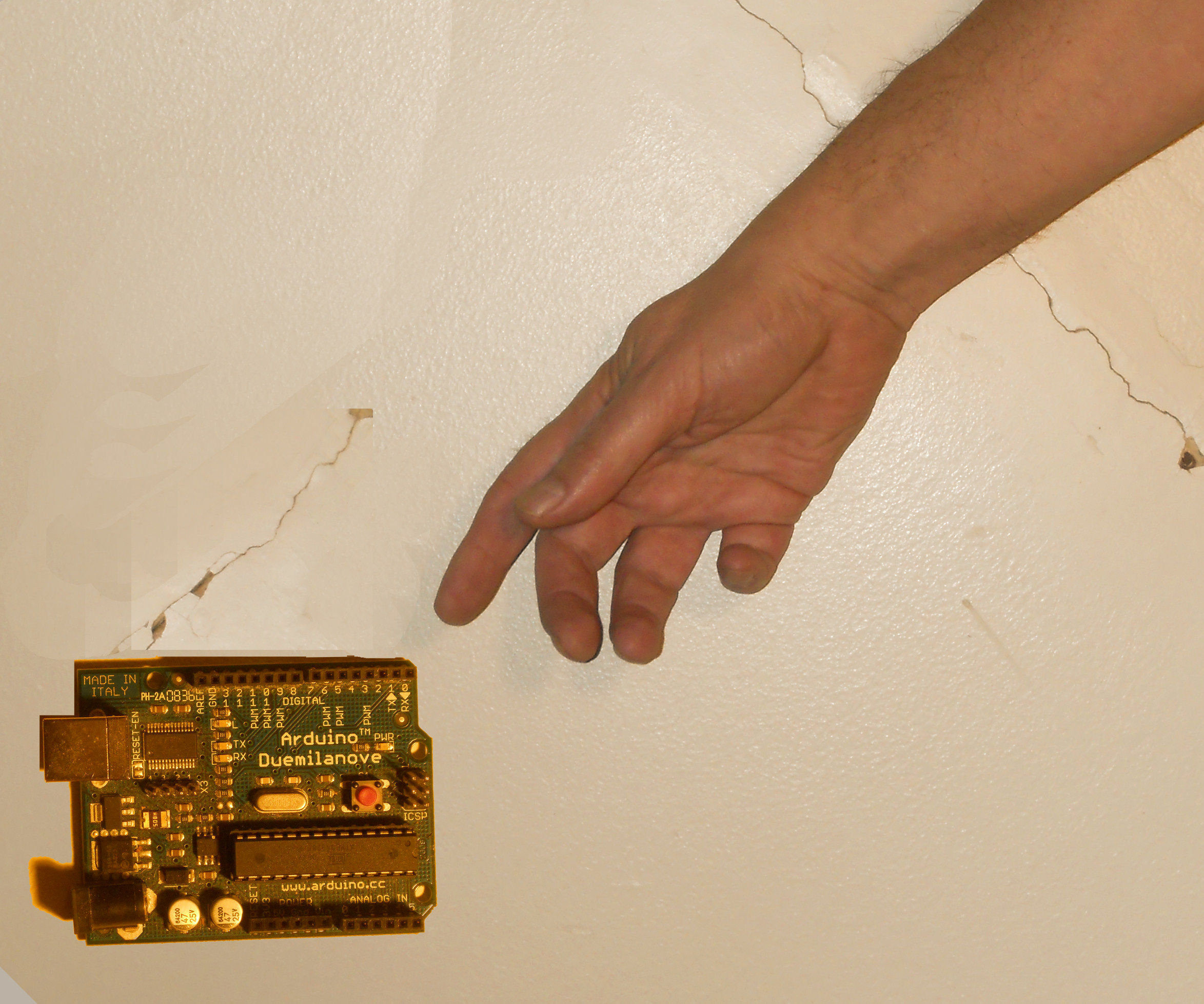 Arduino as a Proximity Detector