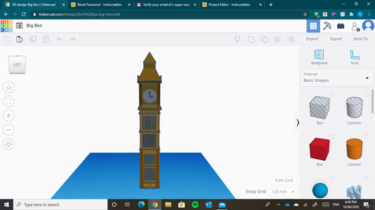 The Clock Tower Is Done!