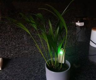简单的Arduino盆栽植物土壤湿度传感器