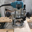 The Simplest Circle Cutting Jig With a Plunge Router