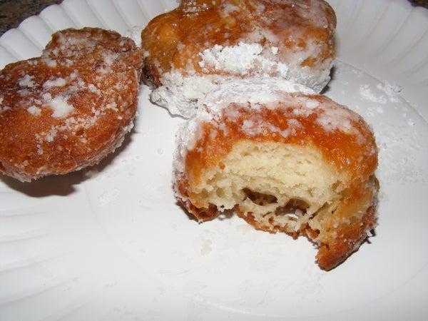 Zippy Zeppoles - Italian Fried Doughnuts