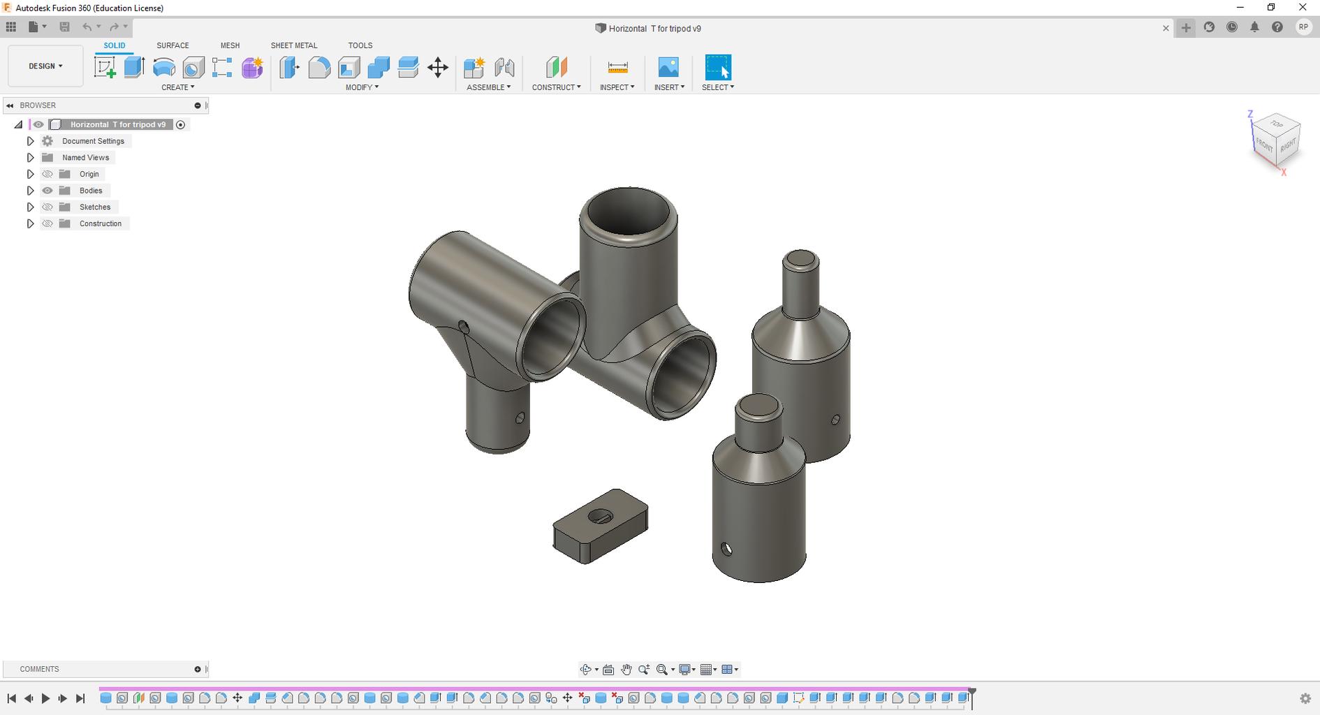 Design in Fusion360