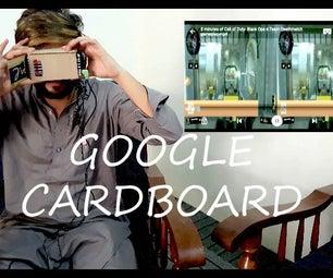 Virtual Reality Headset-Google Cardboard