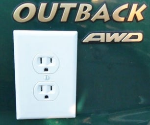 Fake Electrical Outlet