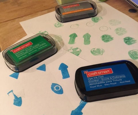 3D Printed Ink Stamps From Sugru