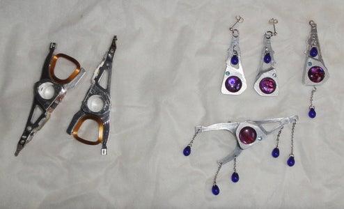 Harddisk Actuator Arm Jewellery