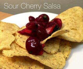 Sour Cherry Salsa