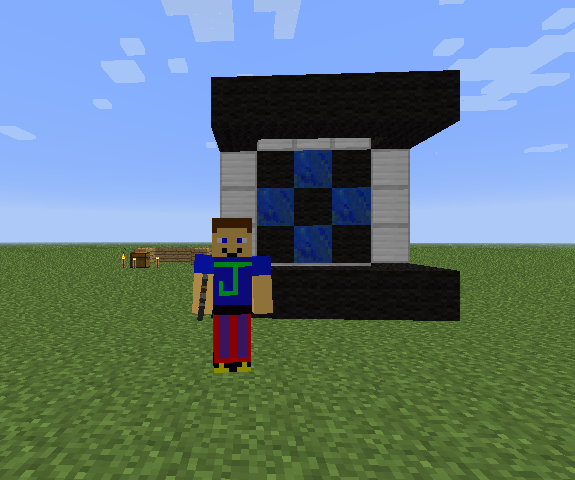 How to build Wheatley from Portal in Minecraft