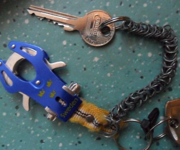 Sturdy & Flexible Metal Chain (for Keys)