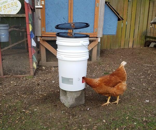 Clean 5-Gallon Chicken Waterer