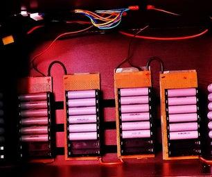 24V Mini PowerWall Using 6S Lithium-ion 18650 Cells