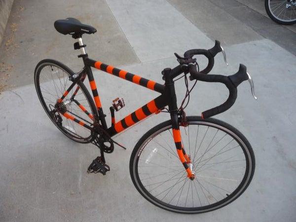 Anti-Theft Bike Painting