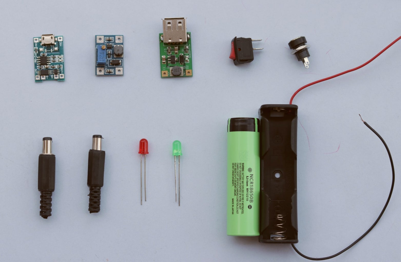Components  and Tools Required