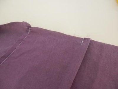 Sew Back Pleats