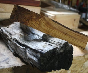 Branch to Box: Dice Tray Made From Firewood
