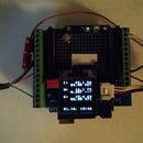 Arduino 1-wire Display (144 Chars)