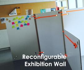 Reconfigurable Exhibition Wall - Werkplaatsidc