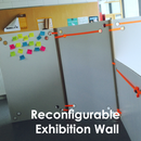 Reconfigurable Exhibition Wall - Werkplaatsidc