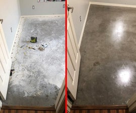 Exchange Carpet for Finished Concrete
