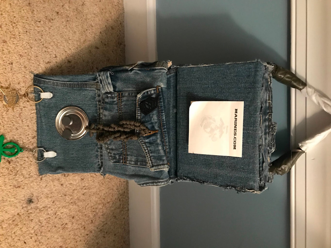 Recycled Materials Organizer