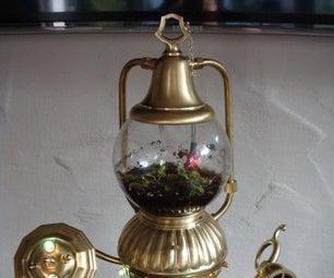 Floralia Insektans - a Steampunk Terrarium / Plant Observer