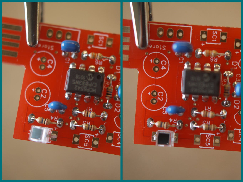 Photo-diodes (aka Mini Solar Cells)