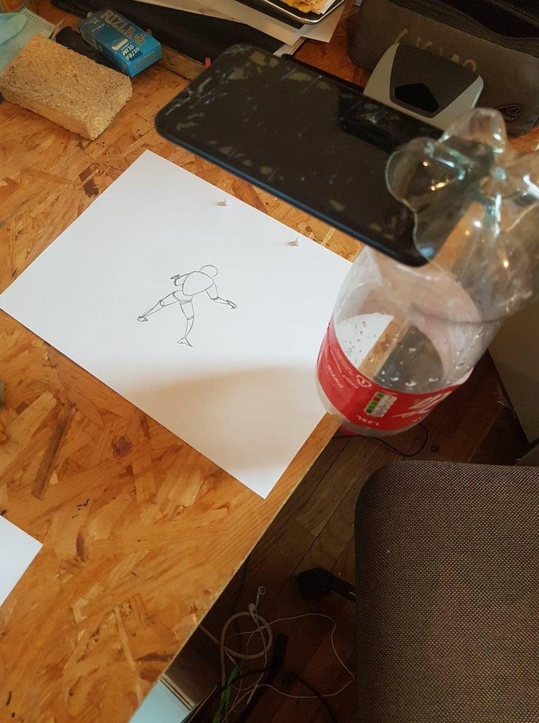 Traditionnal Animation Phone Shooter Setup