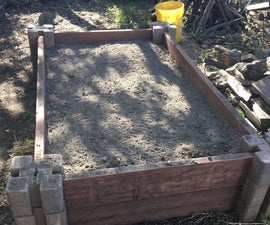 Super Easy Raised Garden Bed