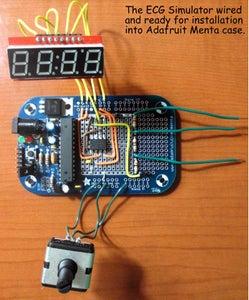 Wiring the Menta ECG Simulator Board