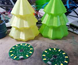 Christmas Tree ATmega (arduino)