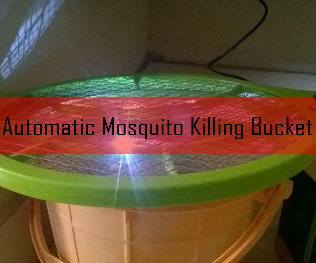 Automatic Mosquito Killing Bucket