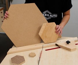 How to Cut Hexagons Any Size