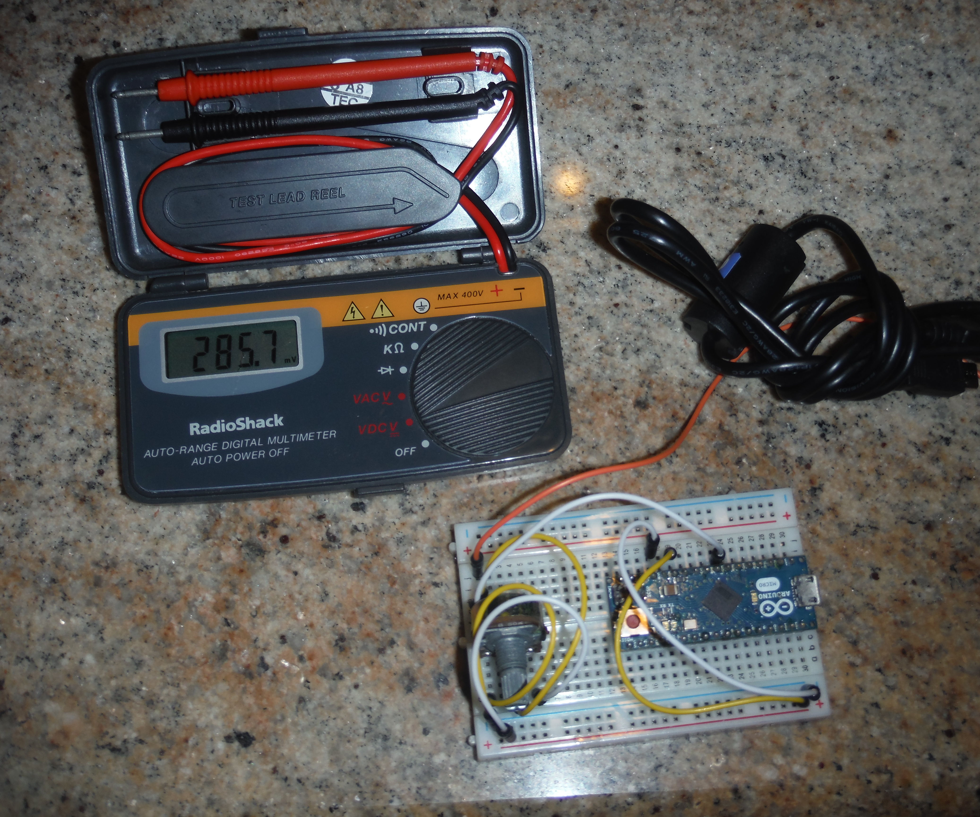 Arduino Lightning Detector W/ Real Time Graphing
