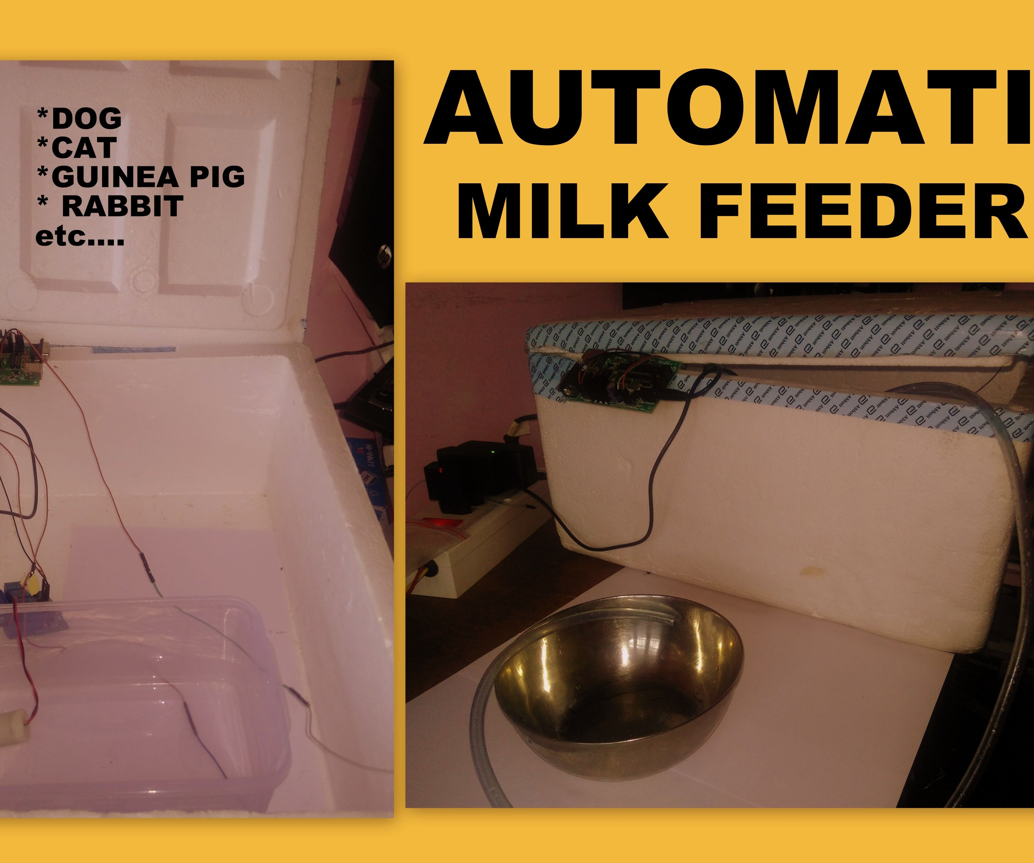 Arduino Automatic Milk feeder