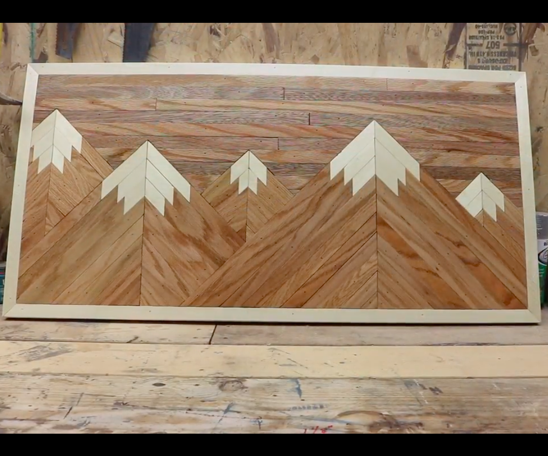 Wood Mountain Wall Decor  20 Steps with Pictures   Instructables