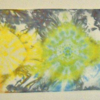 Tie-Dye Rainbow Chakra Scarf
