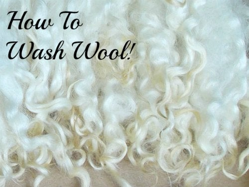 How to Wash Wool & Fiber...without Felting It!