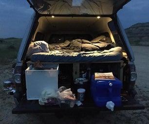 Truck Camper Platform/Bed