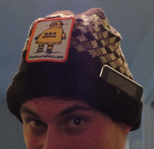Portable Party Toque With Built in Amplifier and Visualization LED