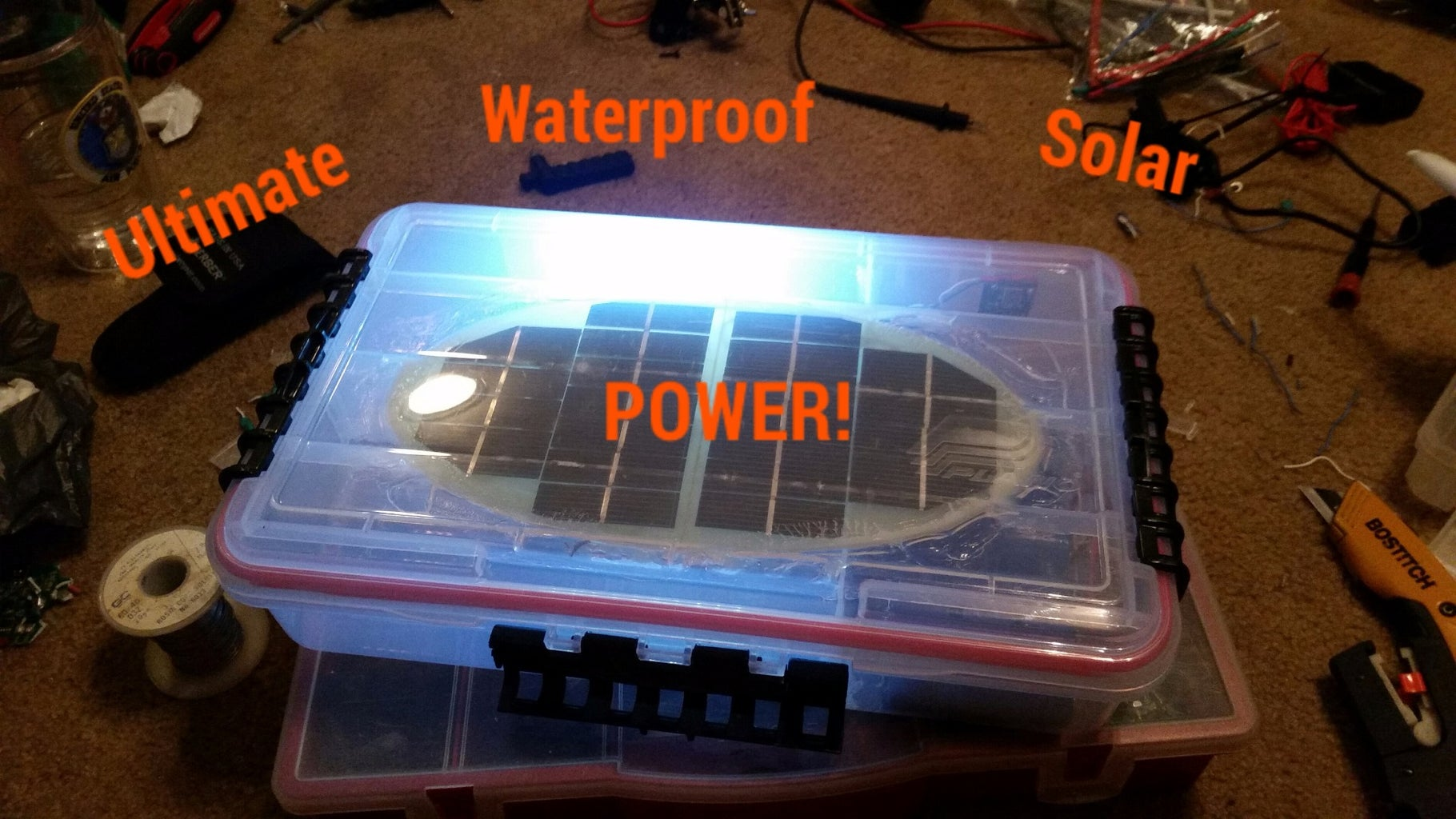 Ultimate Waterproof Solar Power