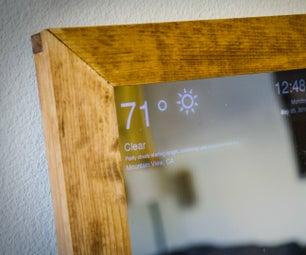 Raspberry Pi Smart Mirror
